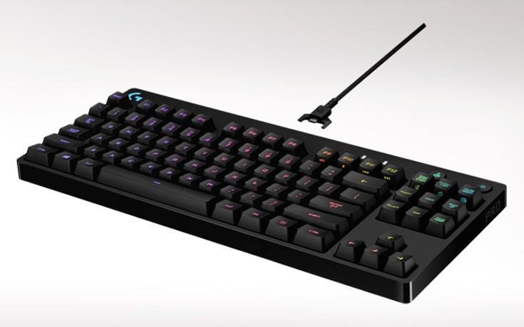 Η Logitech G παρουσίασε το νέο μηχανικό πληκτρολόγιο Pro για gamers