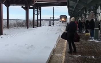 Η έκπληξη που επεφύλασσε το τρένο