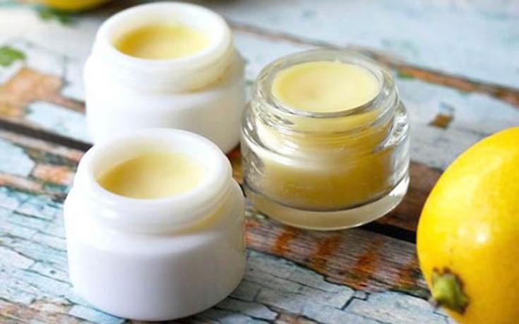 Lip gloss λεμόνι με τα χεράκια σας