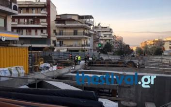 Νεκρός ο χειριστής του γερανού που ανετράπη στη Θεσσαλονίκη