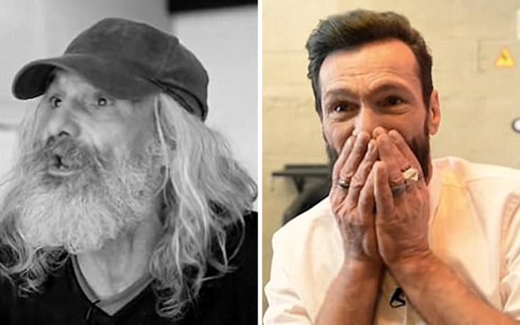Άστεγος ξεσπά σε δάκρυα βλέποντας τη μεταμόρφωσή του