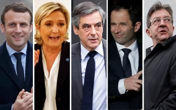 Πρώτο debate στη Γαλλία λίγο πριν τις εκλογές