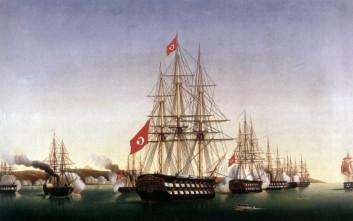 Η πολεμική μηχανή του οθωμανικού στόλου που τσακίστηκε από την ελληνική ψυχή