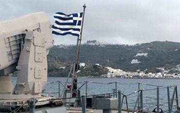 Αποτροπή ναυτικού αποκλεισμού με «Ορμή» στο νοτιοανατολικό Αιγαίο