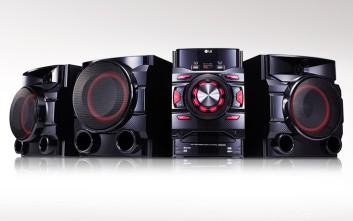 Το νέο Mini Hi-Fi CM4560 αποτελεί τη νέα πρόταση της LG για διασκεδαστικά πάρτι