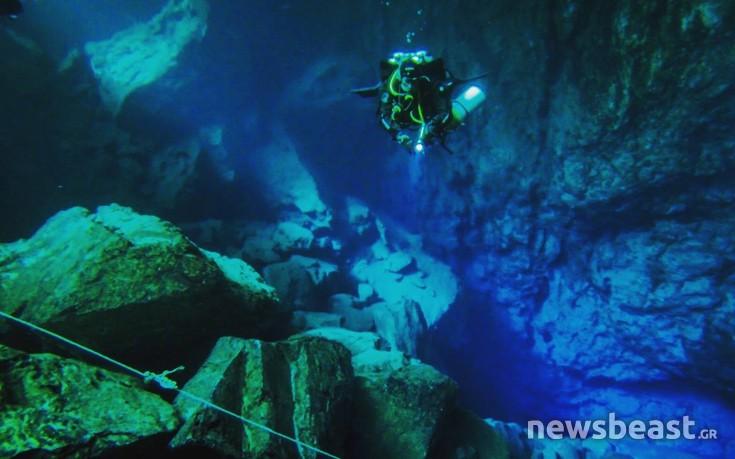 Η υδάτινη πολιτεία της λίμνης Βουλιαγμένης που δεν έχει εξερευνηθεί ολοκληρωτικά