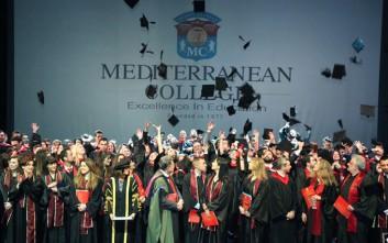 Τελετή αποφοίτησης του Mediterranean College σε Αθήνα και Θεσσαλονίκη