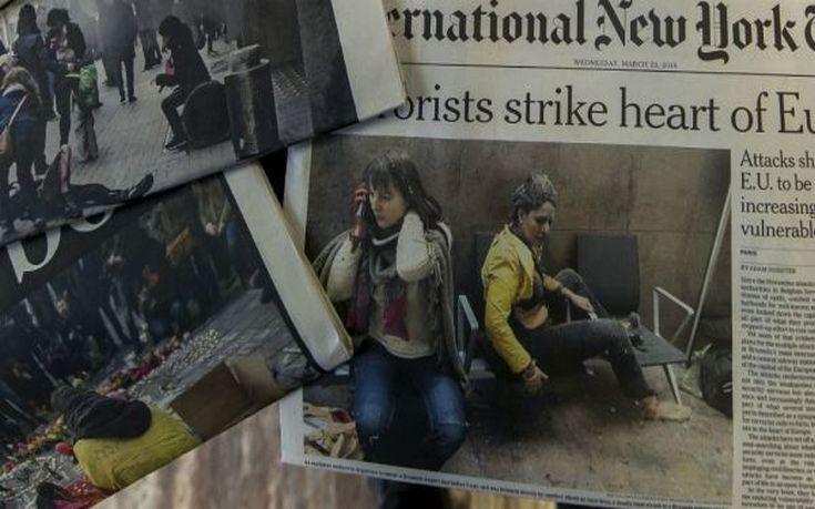 Επέστρεψε στο Βέλγιο η αεροσυνοδός – σύμβολο των τρομοκρατικών επιθέσεων