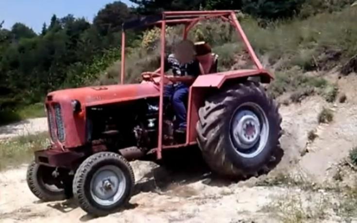 Ανήλικοι πίσω από το τιμόνι αυτοκινήτων και αγροτικών οχημάτων