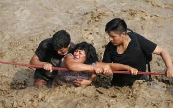 Σαρωτικές πλημμύρες που θυμίζουν Ελ Νίνιο στο Περού