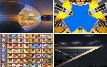 Αρχιτεκτονικές δημιουργίες, φωτογραφικά έργα τέχνης