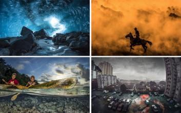 Ο φωτογραφικός φακός μάρτυρας εξαιρετικών εικόνων από όλο τον κόσμο