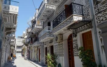 Πυργί, το χωριό της Χίου που μοιάζει με κέντημα