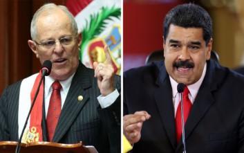 Εκτός ορίων η κόντρα μεταξύ του Μαδούρο και του προέδρου του Περού
