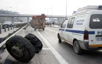 Σύγκρουση έξι οχημάτων πριν λίγο στη Θεσσαλονίκη