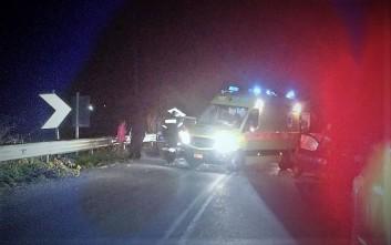 Αυτοκίνητο έπεσε σε γκρεμό στην Αχαΐα