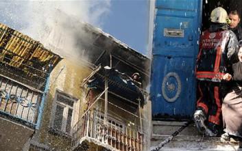 Φρικτός θάνατος για τρία μικρά αδέλφια που ήταν κλειδωμένα σε σπίτι όπου ξέσπασε φωτιά