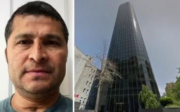 Ο καθαριστής τζαμιών που έπεσε από τον 47ο όροφο και έζησε