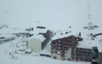 Δεν υπάρχουν θύματα από τη χιονοστιβάδα στις γαλλικές Άλπεις