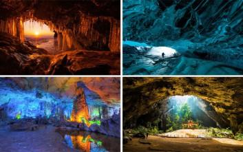 Εντυπωσιακά σπήλαια σε όλο τον κόσμο