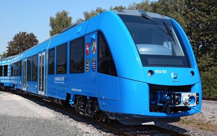 Το πρώτο τρένο στον κόσμο με μηδενικές εκπομπές ρύπων