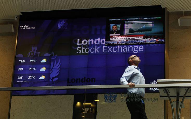 Σε χαμηλό επτά ετών το χρηματιστήριο του Λονδίνου με φόντο τις πρόωρες εκλογές