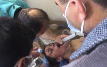 Οι σύροι αντάρτες διαψεύδουν ότι το φονικό αέριο διέρρευσε από αποθήκη χημικών όπλων