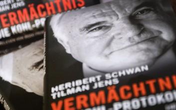 Αποζημίωση ρεκόρ για τον Χέλμουτ Κολ από εκδοτικό οίκο