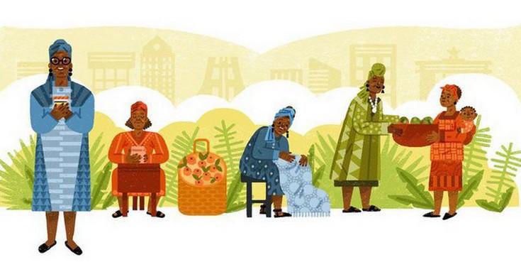 Έσθερ Άφουα Οκλόο, η επιχειρηματίας θρύλος από τη Γκάνα στο doodle της Google