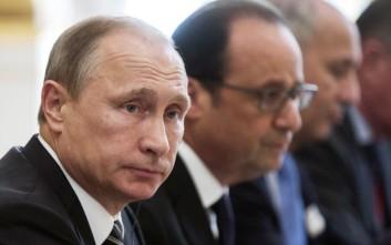 Ανταλλαγή δεδομένων για την τρομοκρατία από Πούτιν, Μέρκελ και Ολάντ
