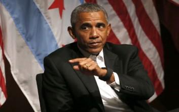 «Συνέβη τίποτα κατά την απουσία μου;», αναρωτήθηκε ο Μπαράκ Ομπάμα