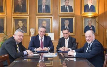 Συνεργασία ΕΒΕΑ - Πανεπιστημίου Πελοποννήσου για την προώθηση της νεοφυούς επιχειρηματικότητας