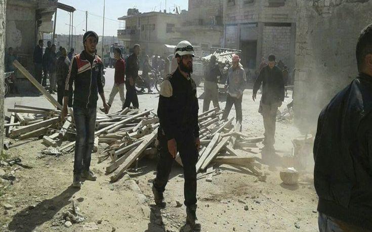 Λουτρό αίματος με 38 νεκρούς στη Συρία