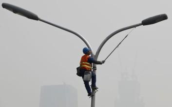 Το νέφος κάλυψε το Πεκίνο
