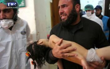 Βομβαρδίστηκε και το νοσοκομείο στη Συρία