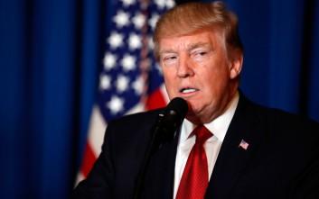 Ο Τραμπ υποστηρίζει το Δόγμα Συλλογικής Ασφάλειας του ΝΑΤΟ