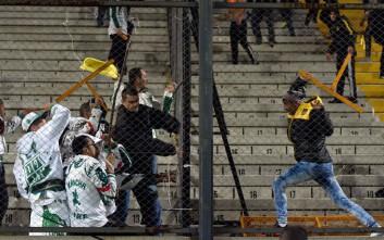 Άγριες συμπλοκές και ξύλο σε αγώνα για το Κόπα Λιμπερταδόρες