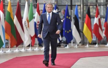 Τουσκ για επίθεση στη Συρία: Η ΕΕ θα σταθεί στο πλευρό των συμμάχων της