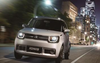 Στην τριάδα των αυτοκινήτων πόλης το Suzuki Ignis