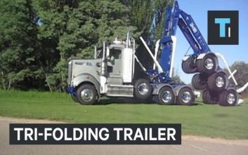 Το πτυσσόμενο φορτηγό transformer
