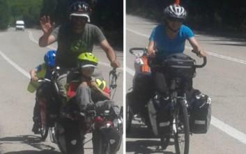 Γαλλία-Δελφοί μέσω Διστόμου… οικογενειακώς με ποδήλατα