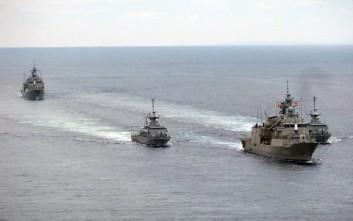 Δυναμική «έξοδος» πλοίων του Πολεμικού Ναυτικού σε Κεντρική και Ανατολική Μεσόγειο