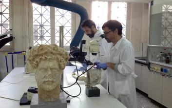 Τα χρώματα των αρχαίων αγαλμάτων στο Εθνικό Αρχαιολογικό Μουσείο