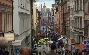 Δύο οι τραυματίες από την έκρηξη έξω από σταθμό του μετρό στη Στοκχόλμη
