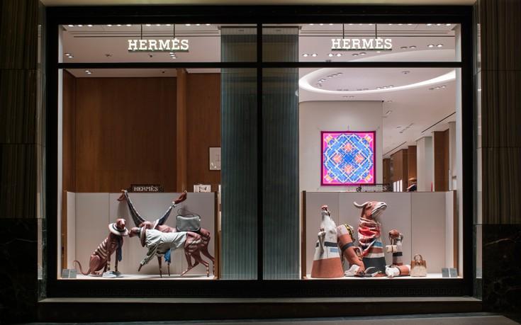 Στο χρηματιστήριο του Παρισιού ο οίκος Hermes
