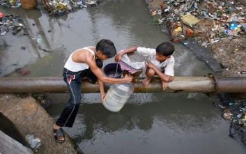 Δύο δισεκατομμύρια άνθρωποι πίνουν νερό με περιττώματα