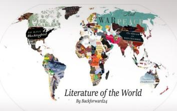 Δείτε σε χάρτη το αγαπημένο βιβλίο κάθε χώρας