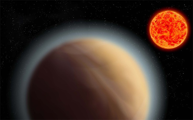 Ανιχνεύθηκε ατμόσφαιρα γύρω από μια κοντινή υπερ-Γη