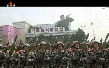 Για 3,5 εκατ. πολίτες που θέλουν να καταταγούν στο στρατό κάνουν λόγο στη Βόρεια Κορέα