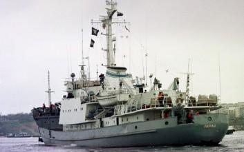 Βυθίστηκε το ρωσικό πολεμικό πλοίο που συγκρούστηκε με φορτηγό στη Μαύρη Θάλασσα